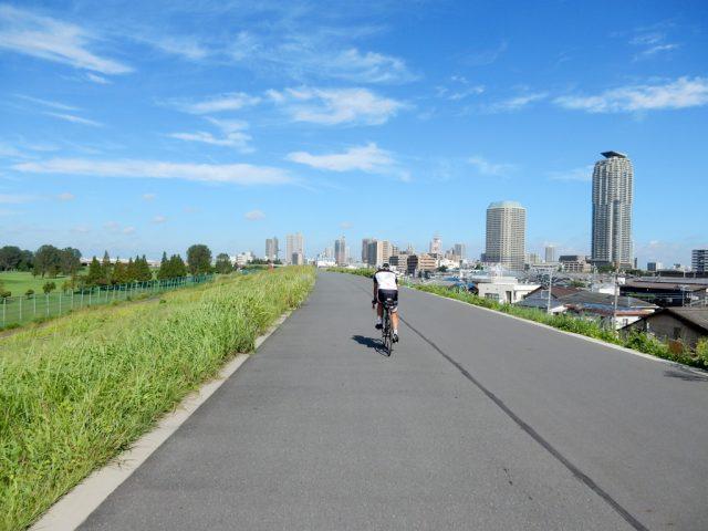 荒川サイクリングロード 左岸