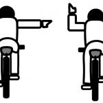 手信号(ハンドサイン)