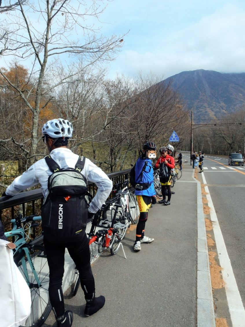 Viaggio Cycling Club in 日光 竜頭の滝