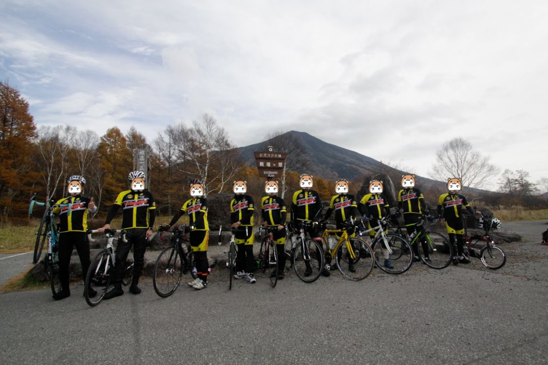 Viaggio Cycling Club in 日光 三本松茶屋